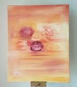 tableau fleurs : Songe de Pivoines
