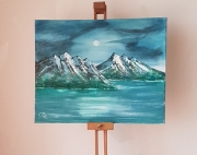 tableau paysages : Par un Clair de Lune