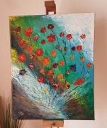 tableau marine : Bouquet océanique