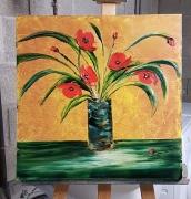 tableau fleurs : Coquelicots