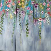 tableau fleurs fleurs couleurs printemps : Bientôt le printemps