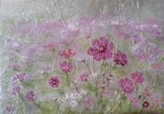 tableau fleurs fleurs brouillard : Fraicheur