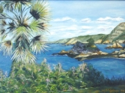 tableau paysages paysage mer ile : Jersey