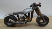 sculpture sculpture metal moto soudure : Vielle moto