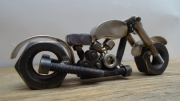 sculpture autres sculpture metal moto soudure : Moto custom