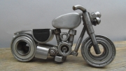 sculpture autres sculpture metal moto soudure : Moto inox
