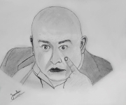 dessin personnages pencil portrait drawing : Sofiene Chaari