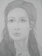 dessin personnages pencil drawing portrait : Lady