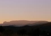 photo paysages paysage le couchant voile paix : Caroux
