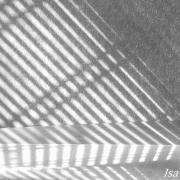 photo abstrait lignes lumiere tamisee douceur zen : stores