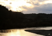 photo paysages orb cessenon soleil miroir : ORB Miroir