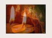 photo nature morte flammes symbole amour complicite : Flammes