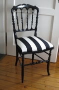 autres autres rayure : Chaise Napoléon