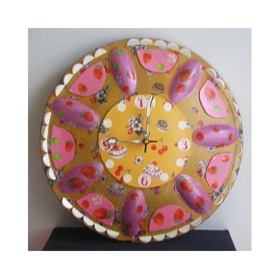 DéCO, DESIGN Horloge pendule  - Horloge dessert