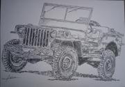 tableau autres voiture auto jeep : jeep