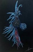 dessin animaux poisson combattant aquarium : combattant