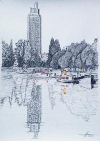 la tour de bretagne à Nantes