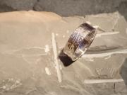 bijoux anneau argent bague : Anneau Argent martelé