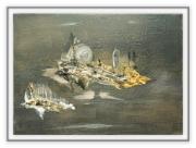 tableau abstrait : boson