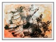 tableau abstrait toubillon rencontre etres deux : dolce vortice