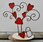 deco design nature morte arbre amour arrosoir coeurs : L'arbre de vie