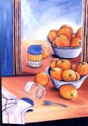 tableau : les oranges