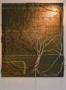 tableau nature morte tapisserie tissage tableau luminaire : Ancrage