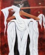 tableau abstrait christ linceul martyre torture : crucifiement