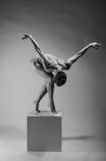 photo nus danse ange femme nu : L'envol