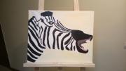 tableau animaux zebre animal sauvage : Zèbre