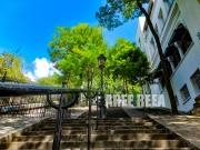 photo paysages montmartre paysage paris marche : Montmartre – Rue Chappe
