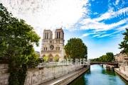 photo architecture paris notre dame la seine paysage : Notre Dame De Paris
