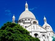 photo architecture sacre coeur montmartre paris paysage : Montmartre - Le Sacré Coeur