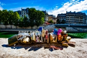 photo paysages paris amour romance love : Paris - Cadenas Quai De Seine