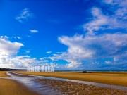 photo paysages mer normandie omaha paysage : Omaha Beach