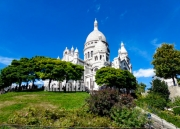 photo paysages architecture sacre coeur montmartre paris : Sacré Coeur
