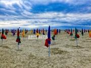 photo paysages deauville les planches normandie mer : Deauville - La Plage