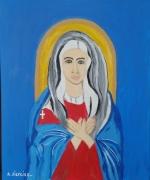 tableau personnages santa : La santa