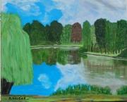 tableau paysages etang emerainville : Etang emerainville