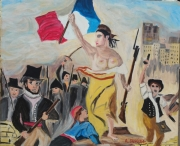 tableau scene de genre liberta : Liberta