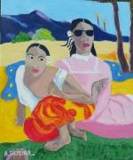 tableau personnages gauguin : Hello gauguin