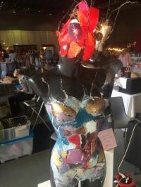 Tableau buste mannequin lampe