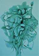 autres abstrait abstrait vert : Boum ... Quand notre coeur fait Boum