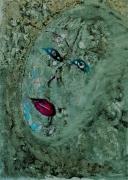 autres personnages visage vert encre : CABOSSEE DE LA VIE