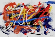 art numerique abstrait peinture numerique abstraction lyrique : Composition Abstraction Lyrique