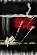 art numerique abstrait arts numeriques art abstrait papier abstraction lyrique : Composition Abstraite