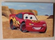 tableau autres voiture enfant dessin anime : cars dans le desert