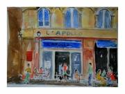 tableau architecture bordeaux apollo bar ville : l'Apollo