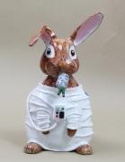 sculpture animaux rabbit moon astronaut explorer : Lapin lunaire