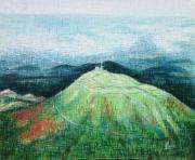 tableau paysages montagne auvergne volcan unesco : Chaîne des Puys 27